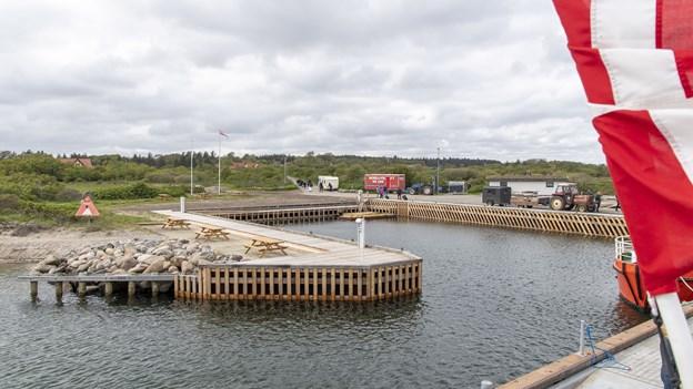 Havn på Limfjordsø sat i stand for ti mio. kroner: Nu kan lystsejlerne bare komme an