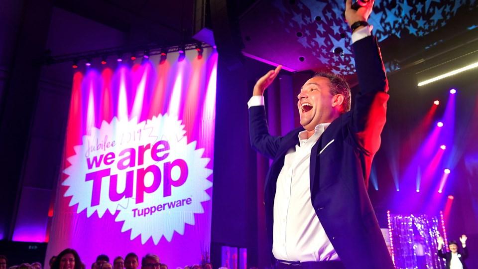 Stein Ove Fenne er group president for Tupperware Nordic. Foto: Claus Søndberg