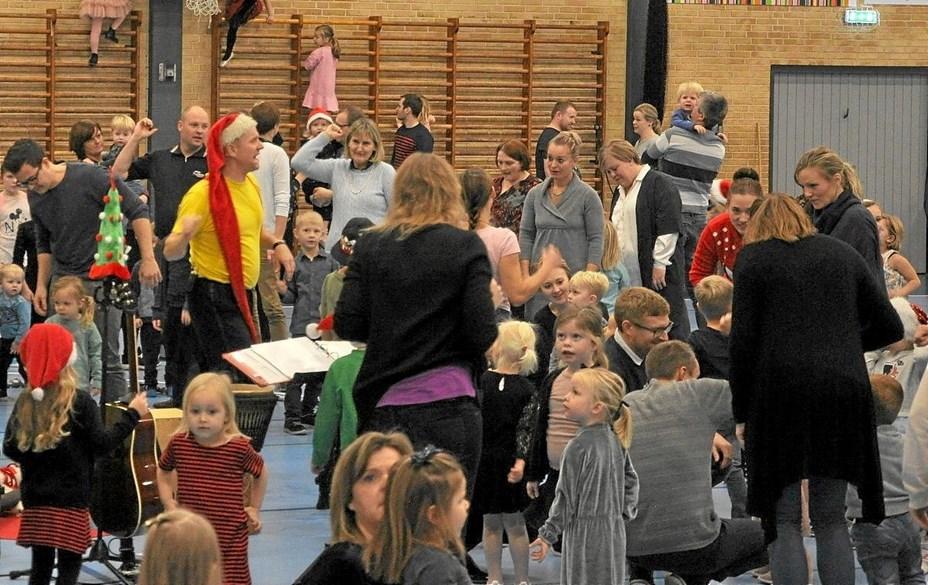 Juletræsfest i Hjallerup