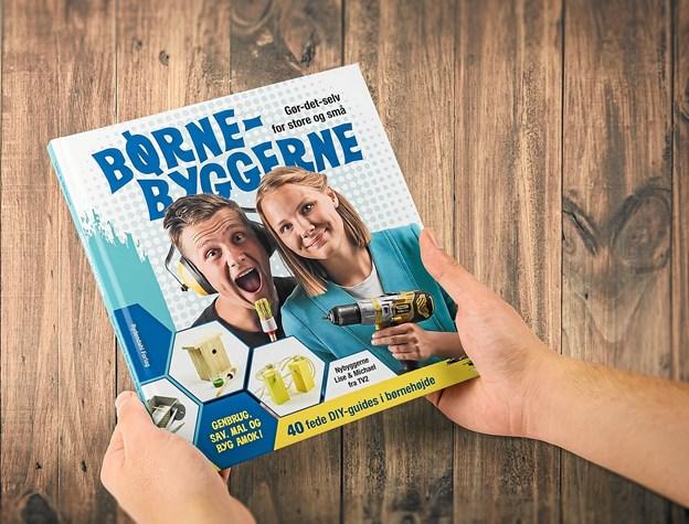 Et af parrets seneste projekter er udgivelsen af børnebogen; Børnebyggerne. Foto: Privat Privat