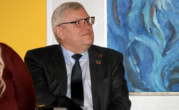 Jens Chr. Golding fejrede sine 60 år
