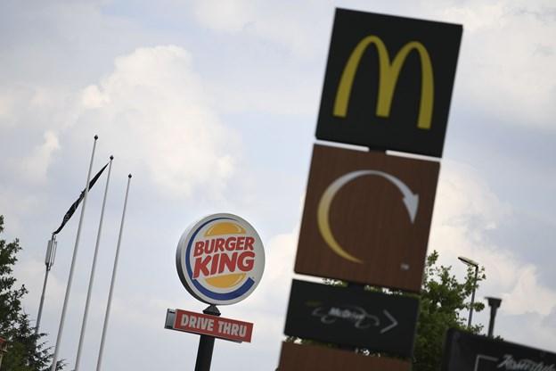 Tys-tys om fastfood ved motorvej: Ingen vil fortælle, at det er McDonald's...