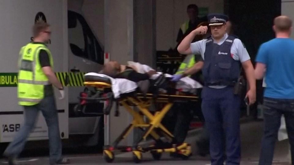 40 er døde ved angrebet på to moskeer i Christchurch i New Zealand.