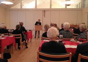 BHE Bindslev holdt adventsfest for ældre