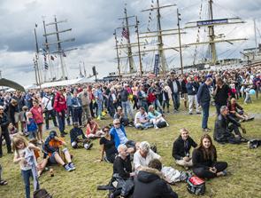 Større end nogensinde: Tall Ships med ambition