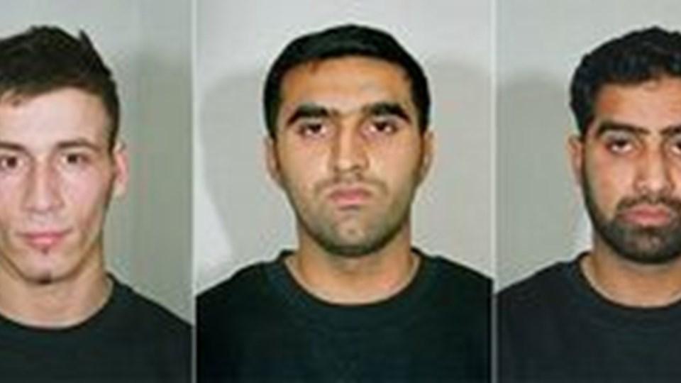 Jawad Akbar, Anthony Garcia, Omar Khyam, Waheed Mahmood og Salahuddin Amin - alle britiske statsborgere - kan se frem til mellem 30 og 40 år bag tremmer.REUTERS/scanpix