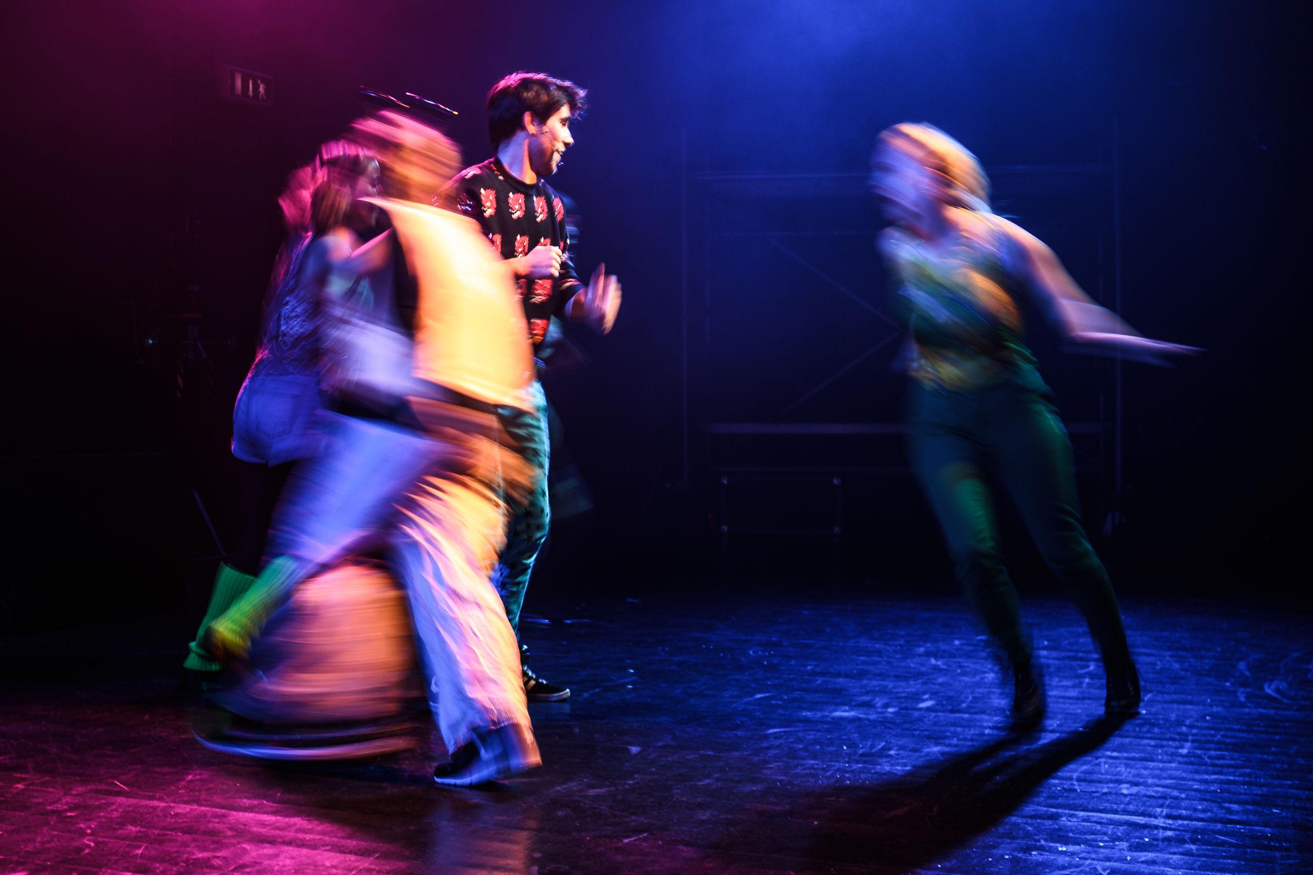 """Det Hem´lige Teater er snart klar til deres jubilæumsforestilling, """"Det´os,"""" der har premiere i denne weekend. Foto: Nicolas Cho Meier"""