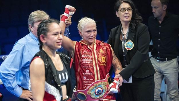 Dina Thorslund forsvarer igen sin WBO-titel