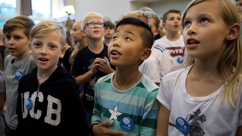 """Høje karakterer er ikke alt, mener skoleleder i Vestbjerg. Skolen er ellers god til at """"løfte"""" eleverne. Arkivfoto: Laura Guldhammer"""
