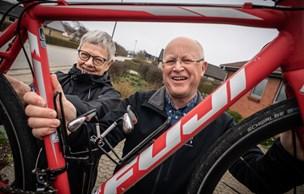 1500 km på cykel mod kræft