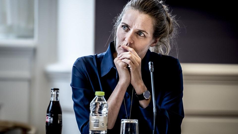Sundhedsminister Ellen Trane Nørby (V) vil genskabe tilliden mellem læger og Styrelsen for Patientsikkerhed. Det sker med otte tiltag. Foto: Scanpix/Mads Claus Rasmussen/arkiv