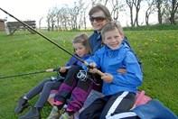 Lystfiskeriets Dag ved fiskesø