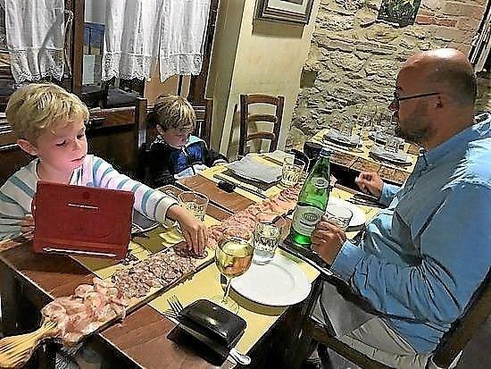 Italiensk kok på besøg i Stokbrogade i Hjørring