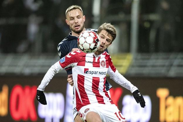Chokeret Lucas Andersen: Anede ikke, AaB skulle bruge et fjerde mål