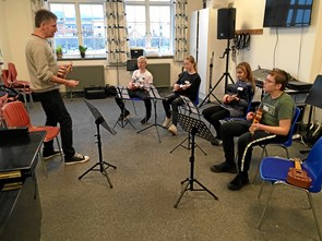 Anderledes musikundervisning
