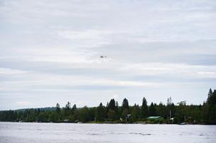 Ni mennesker er dræbt ved flystyrt på ø i Nordsverige