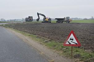 Biogasanlæg ved Vrå vil betale for udvidelse af vejen - men det er stadig ikke nok