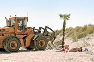 Fotobog: Et par kilo visuel strandsand