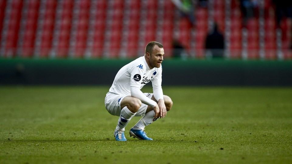 Lars Jacobsen håber, at han snart kommer på tavlen igen. Foto: Scanpix