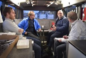 NORDJYSKEs bus kom tæt på erhvervsfolk