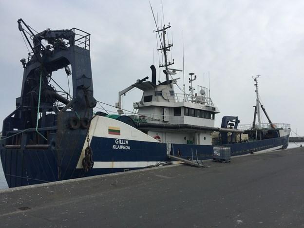 Bomberyddere var i Skagen: Fiskere fik en usædvanlig fangst om bord - den ligner en bombe