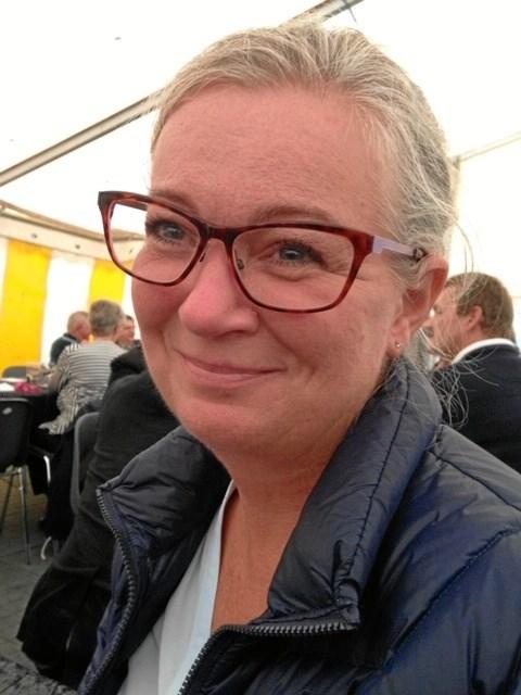 Lisbet Kjærgaard - plejehjemsassistent i Mariager i 25 år.  Privatfoto