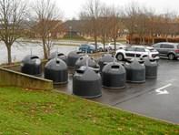 Nye containere til affald på plads