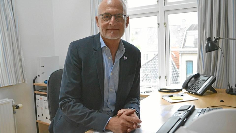 Nis Peter Nissen, direktør for Alzheimerforeningen, er uforstående overfor Thisted Kommunes argumentation i værgesag, men han afventer den endelige afgørelse fra Familieretshuset. Arkivfoto