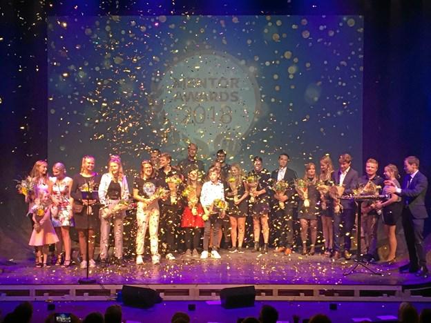 Den 25. august blev prisen som Årets Mentor uddelt ved et stort award show i København.PR-foto