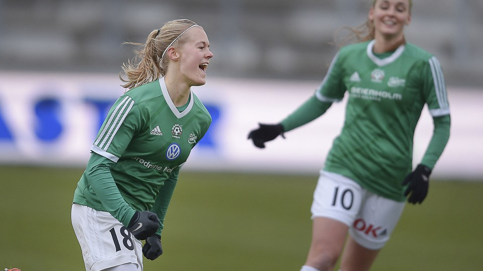 Sarah Dyrehauge skifter Fortuna Hjørring ud med FC Thy. Arkivfoto: Hans Ravn
