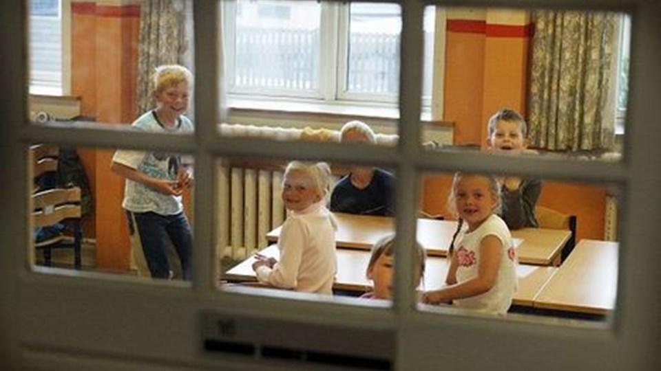 Selvom Ørnevejens Skole er fra 1915 og af mange betragtes som nedslidt, ville forældrene gerne have haft mulighed for at påvirke socialdemokraterne med et mere nuanceret billede af deres skole. arkivfoto: henrik louis