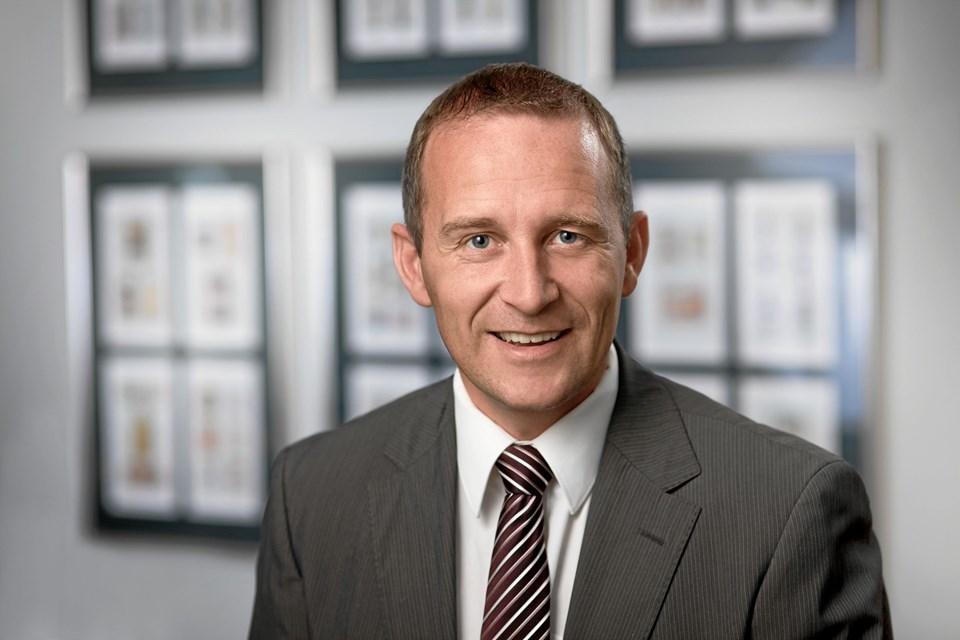 Lasse Vinderslev, nybagt direktør i Oxford Biscuits: - 37 procent af danskerne kan stadig huske navnet Oxford og Marie-kiksene.