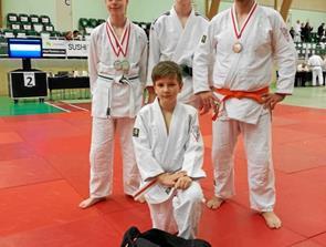 Medaljer ved det sidste judomesterskab