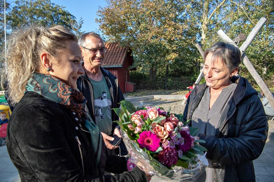 Pernille K. Damsgaard og Kurt Bering
