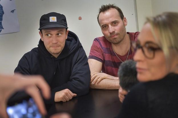 Morten Wichmann og Torben Chris kiggede forbi aalborg:nu-redaktionen til en snak.