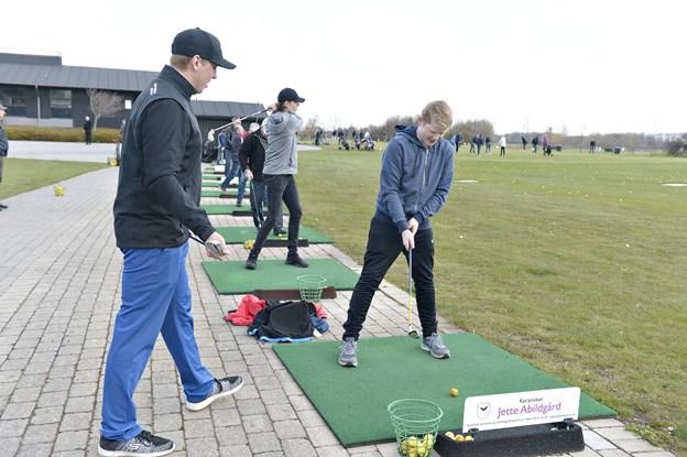 Golfens dag i Brønderslev golfklub  Foto: Bente Poder