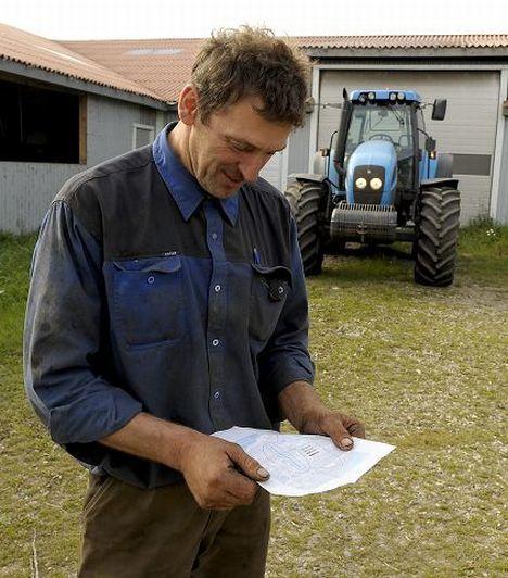Fang neues Konzept Werbe Code bundgaard tractor