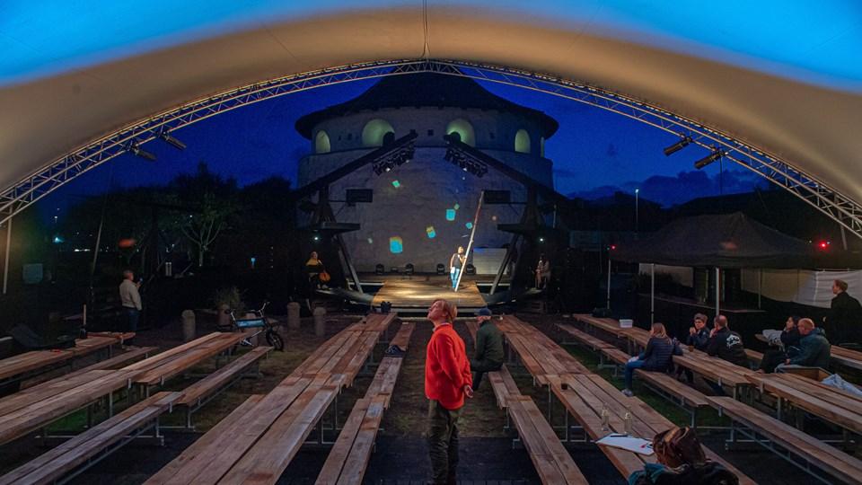 Der er plads til op mod 380 ved hver forestilling. Foto: Martin Damgård