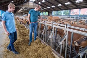 Torben og Martins drøm blev til virkelighed: Nu driver de et landbrug til 25 millioner kroner