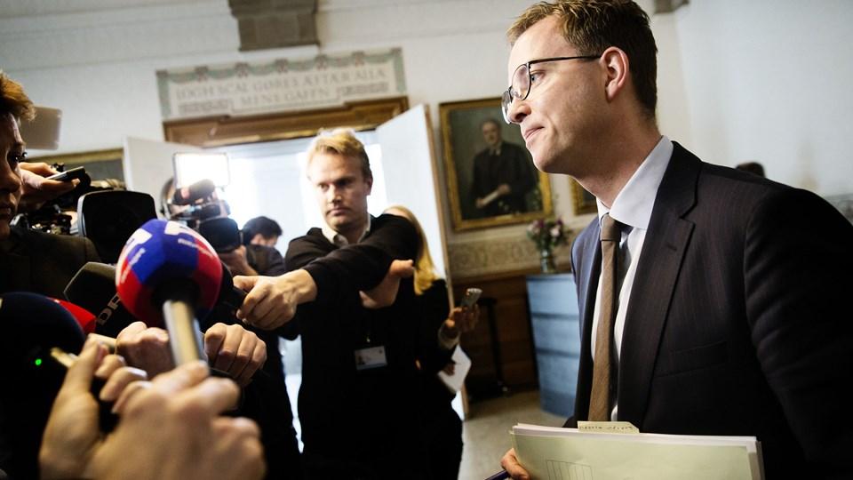 Samråd om kvotekonger. Foto: Scanpix/Jens Astrup