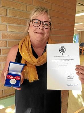 Fortjenstmedalje for 40 års trofast tjeneste