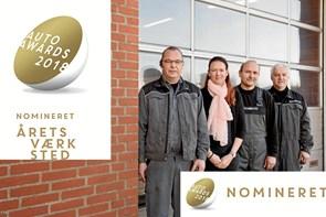 Award-show og firmaudflugt: Lokalt værksted er helt oppe i gear