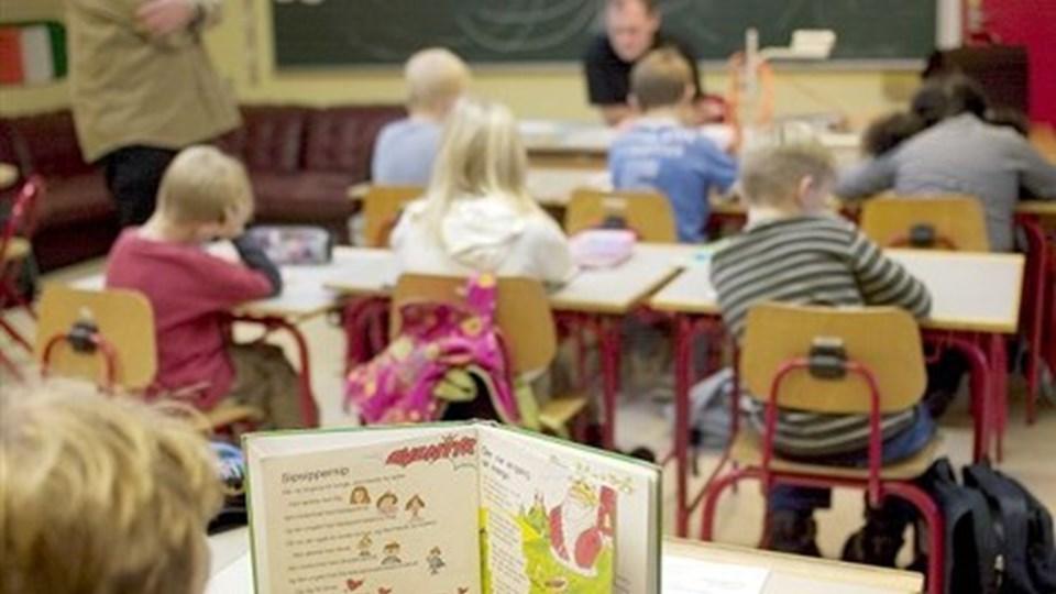 Børne- og skoleudvalget er blevet enige om et forslag til, hvordan man sparer 12 mio. kroner på årsbasis på kommunens folkeskoler. Arkivfoto: Ulrik Bang