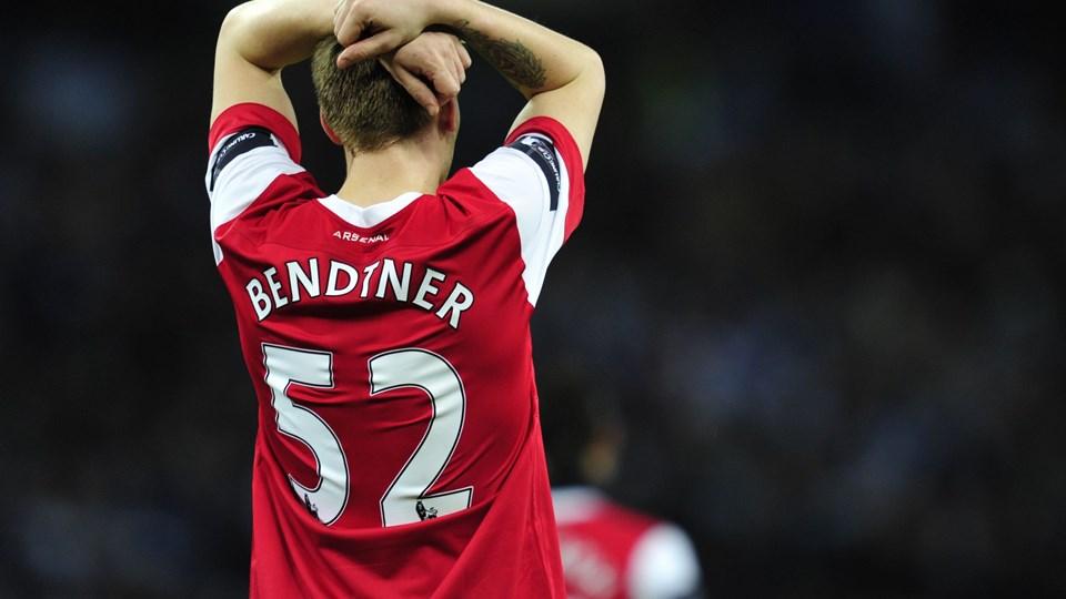Nicklas Bendtner var enig med flere klubber om at skifte, men fik, siger han, ikke lov af Arsenal. Foto: Scanpix