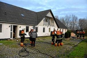Tredje brand på samme gård: Stuehus brød i brand