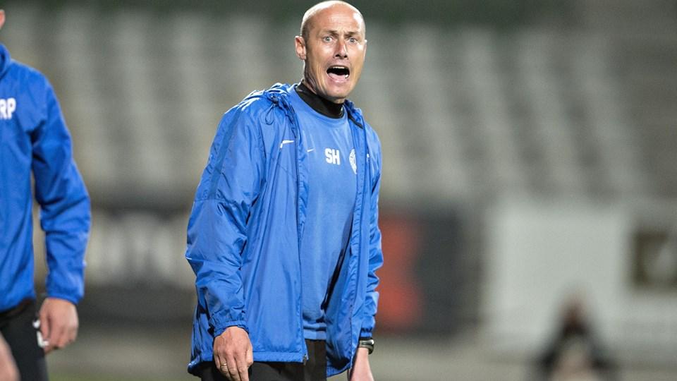 Viborg-cheftræner Steffen Højer kunne søndag se sit hold slå Thisted FC. (Arkiv)