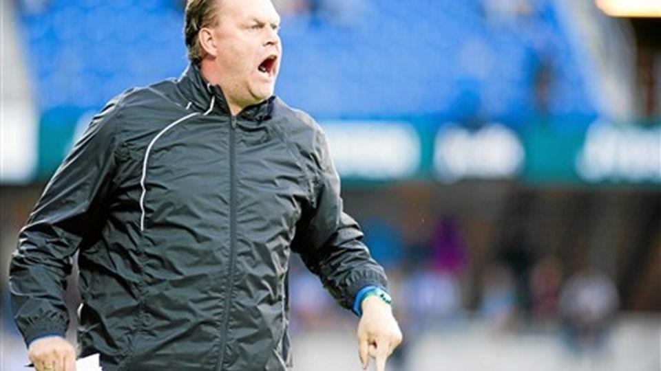 Boye Habekost og FC Hjørring skilles. Men det er ikke spillernes skyld. Foto: John Randeris / Jydske Vestkysten