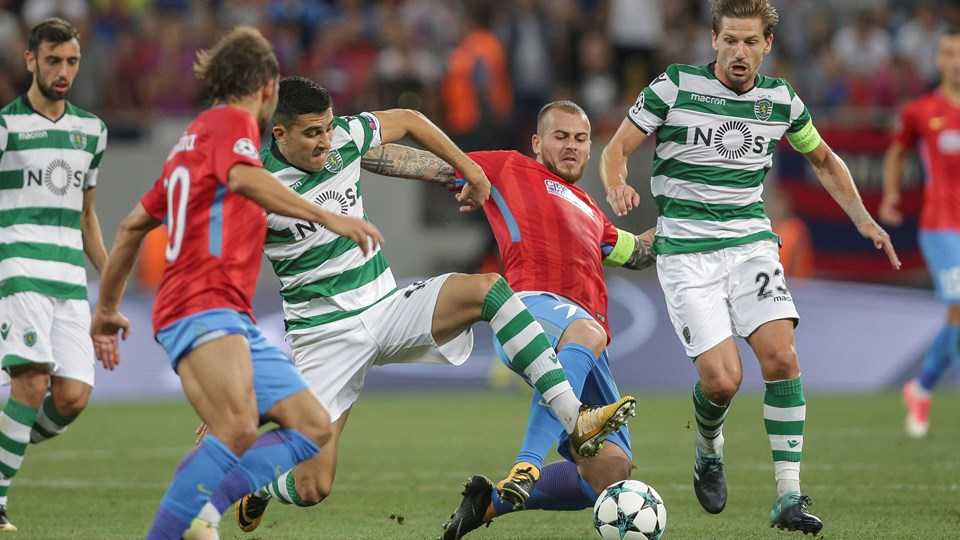 Soccer Football - Champions League Playoffs - FCSB v Sporting CP - Champions League Qualifying Play-Off Second Leg Foto: Reuters/Inquam Photos/arkiv