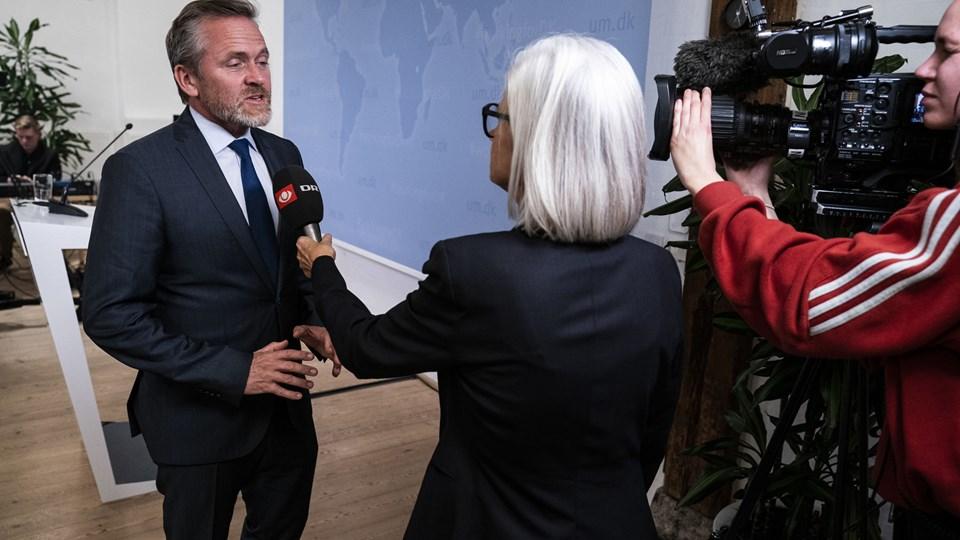 Først efter et møde mellem EU-landenes udenrigsministre 19. november vil Danmarks udenrigsminister, Anders Samuelsen (LA), sige mere om eventuelle sanktioner mod Iran.