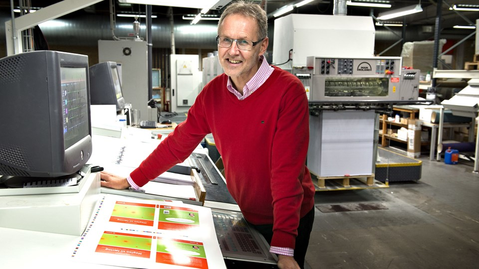 Hans Christian Højslet, Dafolos administrerende direktør, glæder sig over, at frederikshavnerne med opkøbet af Convergens A/S får endnu bedre muligheder for at tilbyde produkter, der passer til kundernes ønsker. Arkivfoto: Hans Ravn